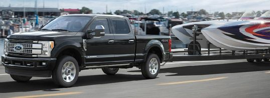 New 2019 F350 4x4 Diesel for shipping and transport boats