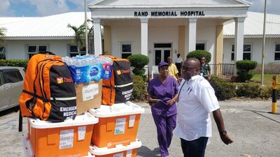 Delivering Medical Supplies after Hurricane Dorian.  Image: Direct Relief.org