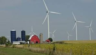 Iowa - leading the country in wind energy use.