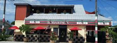 Bobarinos is located in Englewood and well known for its Italian dishes & pizza.