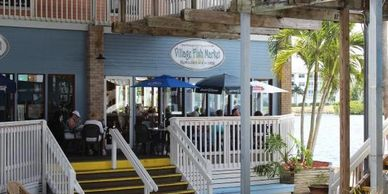 The Village Fish Market is in Fishermans Village with Outdoor Waterfront views. Seafood = Delicious
