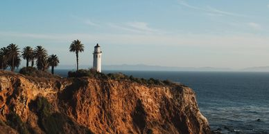 San Vicente Lighthouse in Palos Verdes, California