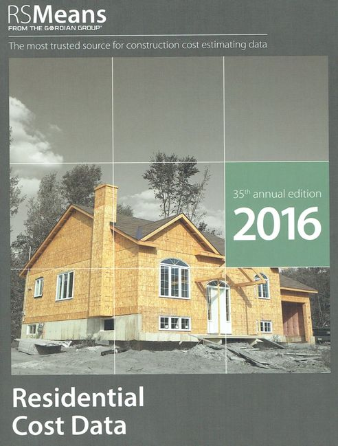Residential Cost Data 2016
