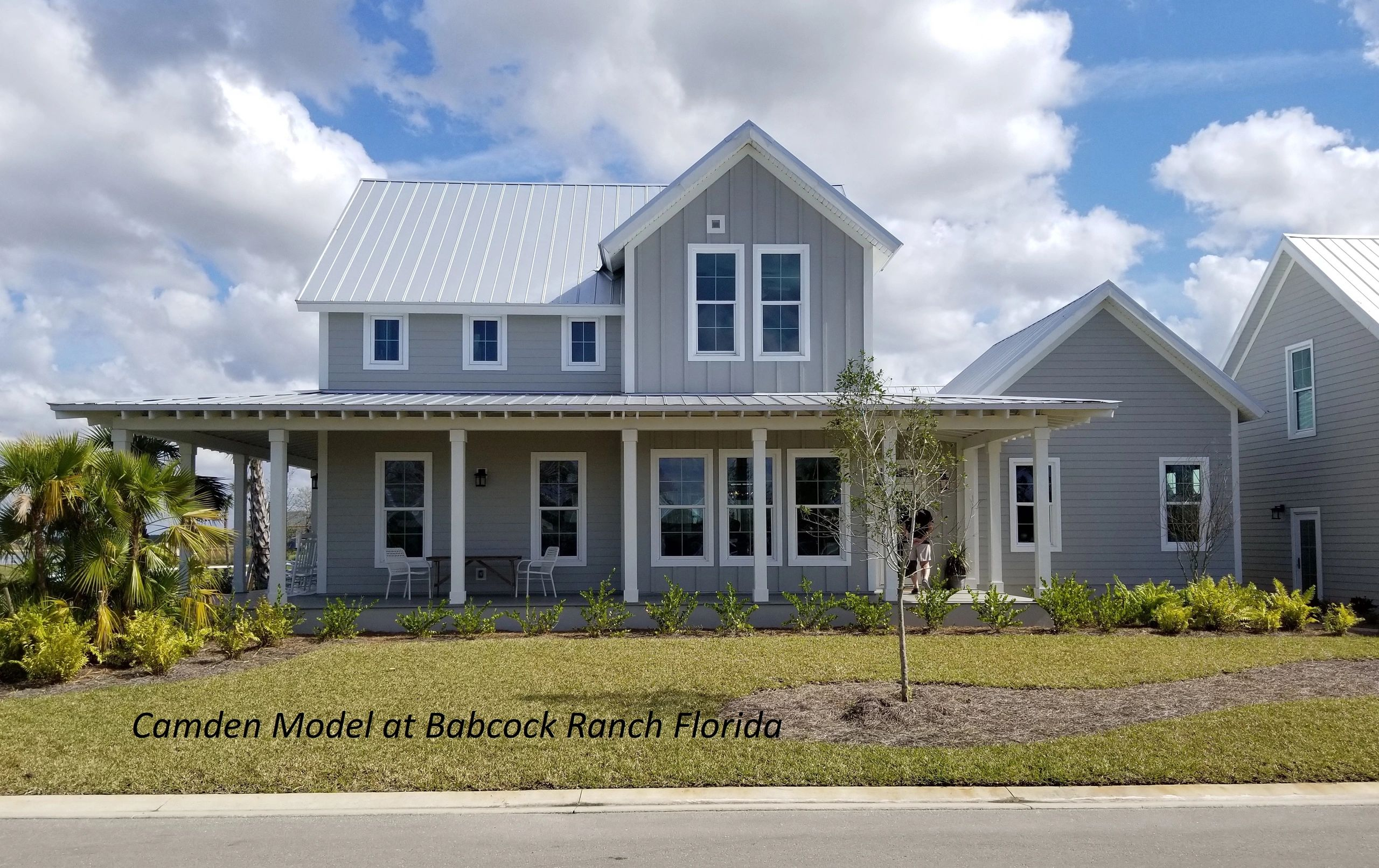New Panel Homes Camden Model at Babcock Ranch Florida