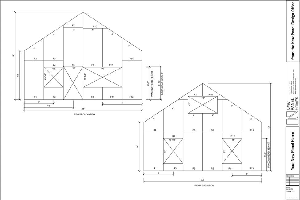 New Panel Homes Elevation