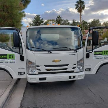 Delete-IT Junk Truck, Delete-IT Junk Removal & Hauling Services Junk Removal In A Click Las Vegas