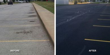 Asphalt Sealcoating (Toledo&Surrounding Areas)