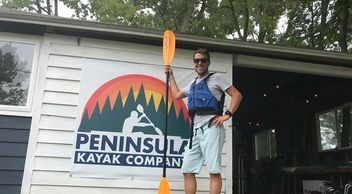 Peninsula Kayak Company Jacksonport Lake Michigan Kayak Shop Bike Rentals  Rob Geitner
