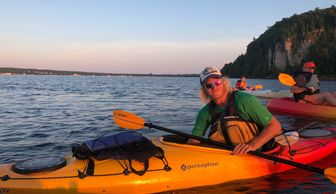 Peninsula Kayak Company Jacksonport Lake Michigan Kayak Shop Bike Rentals  Dane Spitzer