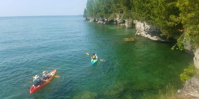 Peninsula Kayak Company Door County Kayak Tour Private Curated Guided Lake Michigan