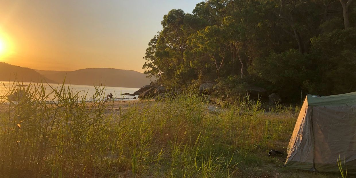 best places to camp sydney equipment hire beach experience family activity