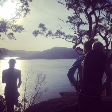 sunset hawkesbury river bushwalk nature tour guided sydney