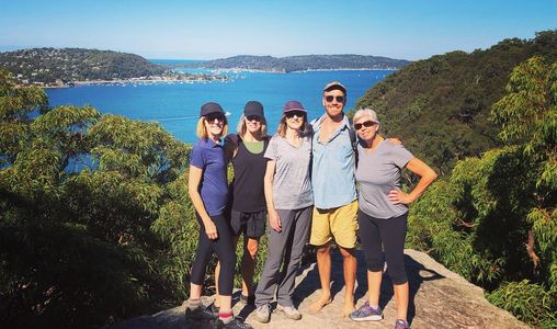 Guided bushwalk ku-ring-gai chase national park pittwater hawkesbury river adventure present ideas