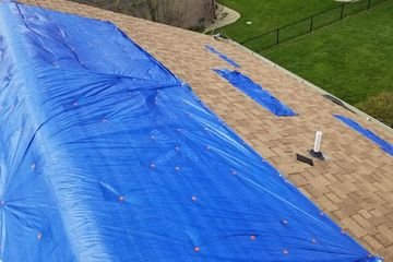Roof Tarping and Board-up