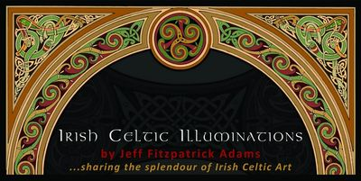 Irish Celtic Illuminations banner
