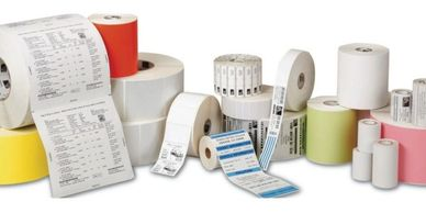 Thermal Labels for Kiosk and ticket printing along with thermal paper label