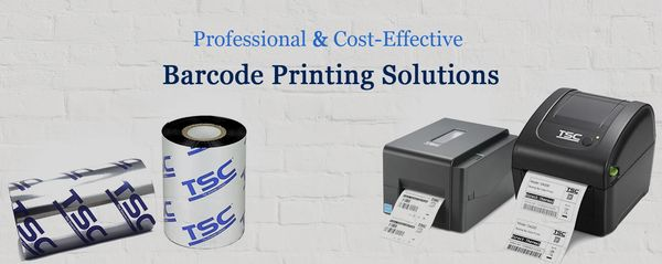 barcode printer ribbon and barcode label