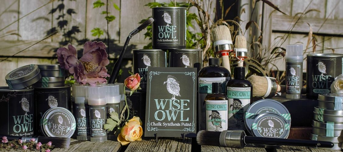 Wise Owl Paint Products Banner