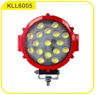 "6"" Round 51W LED Work Light"