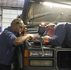 Our mechanics are highly skilled and have over 50 years of combined experience.   They've got tools,