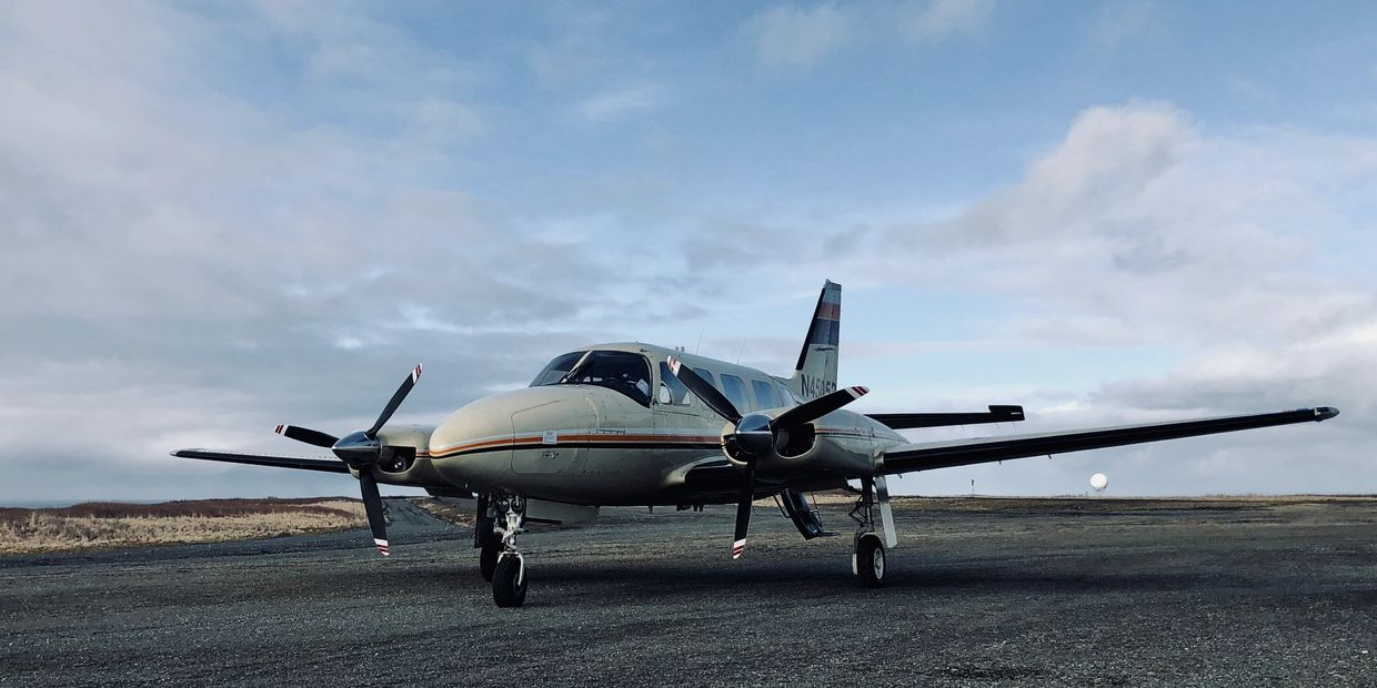 Aircraft Charter Flight to Middleton Island Alaska