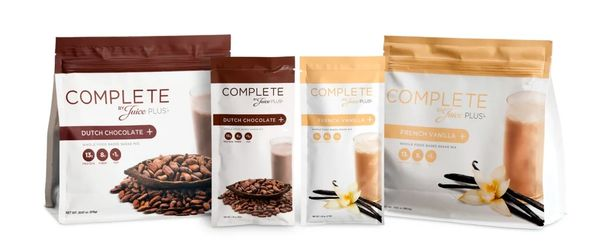 For meals on a go, the Complete is a wonderful choice. Best tasting whole food protein smoothie mix.