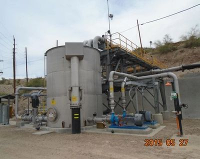 BHP Boundary Sump reclamation pumping station
