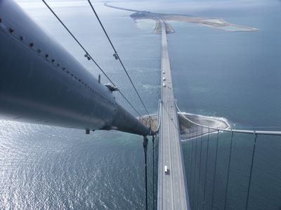 "Storbelt bridge photo ""From the Top"" Hal Worrall"