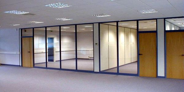 Stud and Glass Partitions