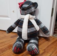 handmade keepsake memory stuffed animal bear