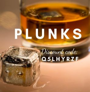 PLUNKS - The one and only Whiskey Stone encased in ICE