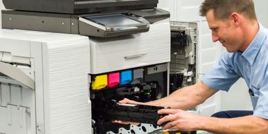 The Copier Clinic, Inc. offers a variety of services that are convenient to your business needs, sav