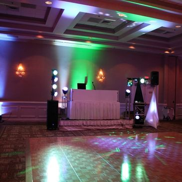 Sun DJs does all kinds of events.  From back yard parties to Corporate & Weddings.