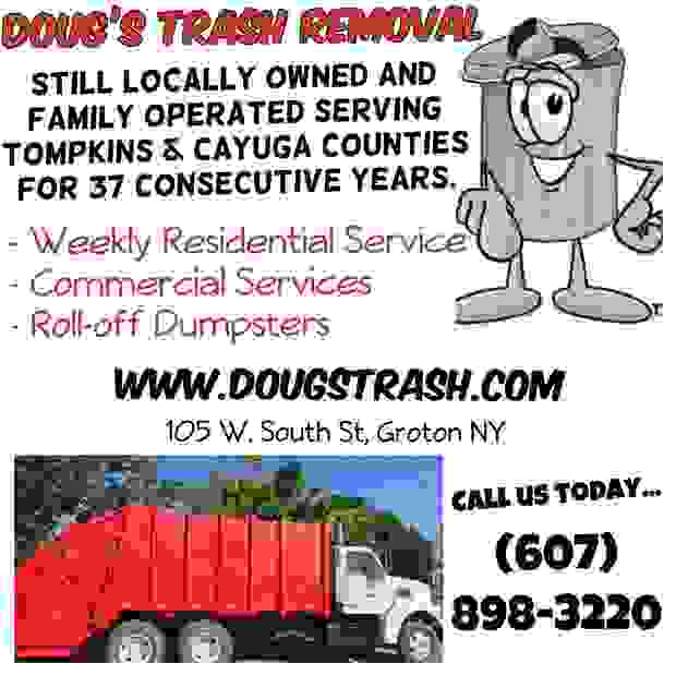 Weekly residential garbage service, commercial dumpsters, roll off dumpster service