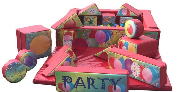 17 piece soft Play, £25 *only available as an add on