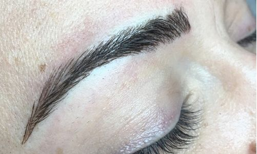 Microblading After shot