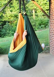 Sensory Therapy Autism Autistic Swing Cocoon Cuddle Swing OT Occupational Therapist Airwalker