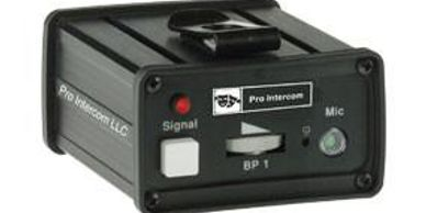 BP1 single-channel belt pack for production intercom