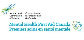 Mental Health First Aid logo two hands