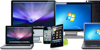 Smart phones, tablets, computers, Apple, Samsung, Google, LG, HP and more