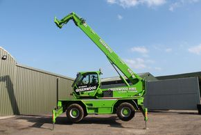 Roto telehandler hire from Greenwood Hire