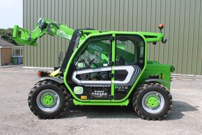Compact telehandler hire from greenwood hire