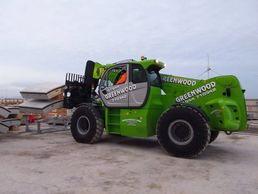 Heavy lift telehandler hire from Greenwood Hire