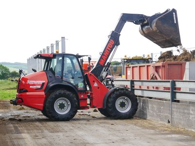 The Manitou MLA-T 533 145 articulated telehandler. Manitou MLA Hire, Manitou MLA Rental. Manitou MLA