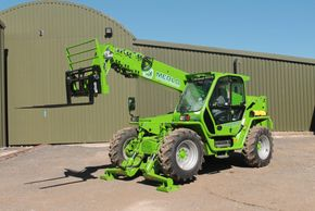 Merlo telehandler hire from Greenwood Hire
