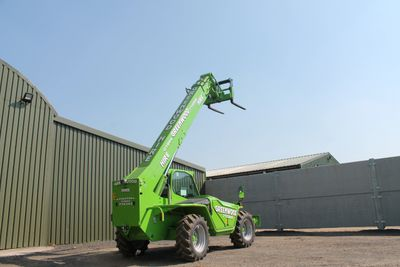 Merlo 38.14 Telehandler for hire, 14mtr telehandler for rental, 14mtr telehandler for sale. 14mtr