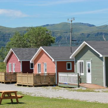 Private, self-contained, cabins, staycation, newfoundland