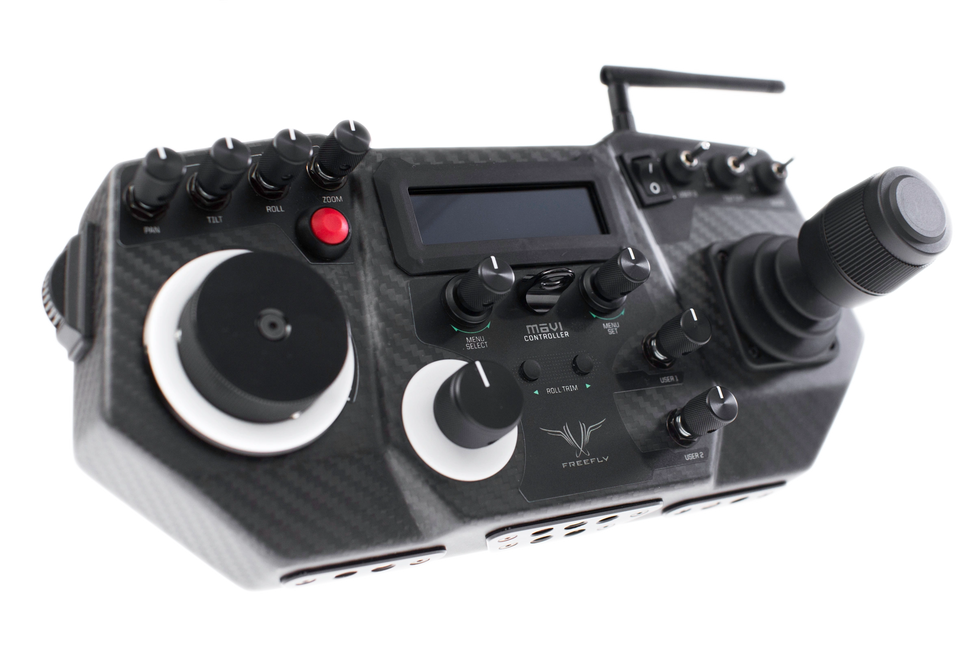 Movi Controller used for the Movi XL. We use it on our camera car in San Francisco. UltraArmSF.