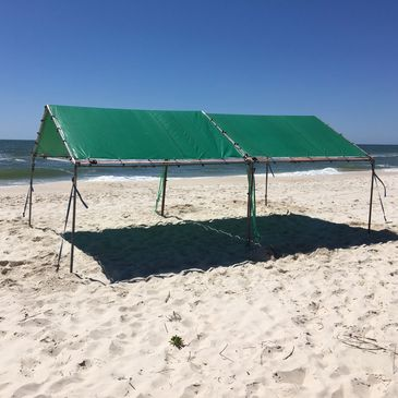 Single ~ Double ~ Triple  Weekly Beach Tents avaiable