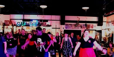 Iron City Swing swing dance lessons.  Learn how to dance - meet people and have fun!